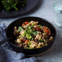 Easy Paleo Cauliflower Fried Rice