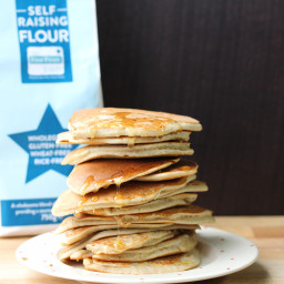 Easy Pancakes in a Jar