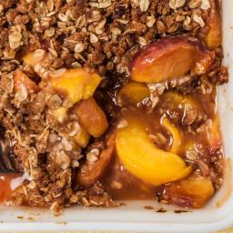 Easy Peach Crisp