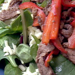 Easy Philly Steak Salad