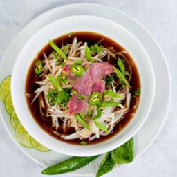 Easy Pho Bo (Vietnamese Beef Noodle Soup)