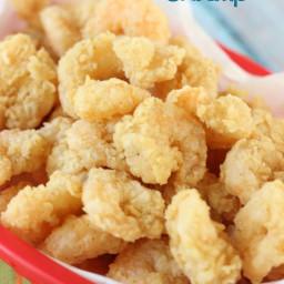 Easy Popcorn Fried Shrimp