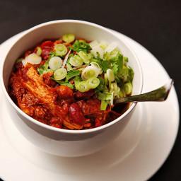 Easy Pork and 3-Bean Chili Recipe