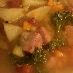 Easy Portuguese Kale Soup