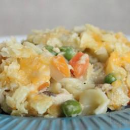 Easy Potato Chip Tuna Casserole Recipe