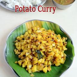 Easy potato curry - Brahmin's style