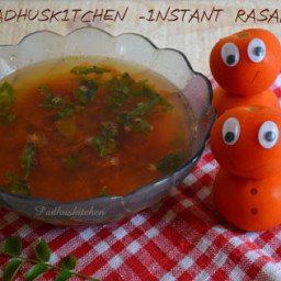 Easy-Quick-Instant South Indian Rasam- (avasara rasam)
