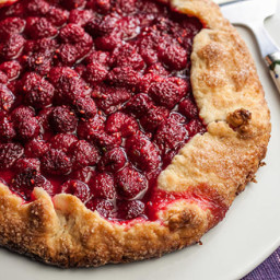 Easy Raspberry Tart