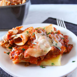 Easy Rigatoni Bake
