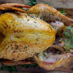 Easy Roast Turkey with Herb Butter