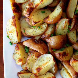 Easy Roasted Dill Red Potatoes