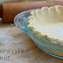 Easy Shortening-Free Pie Crust • The Prairie Homestead