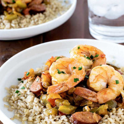 Easy Shrimp Jambalaya