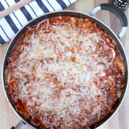 Easy Skillet Lasagna Without Ricotta