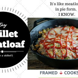 Easy Skillet Meatloaf