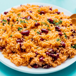 Easy Spanish Rice and Beans