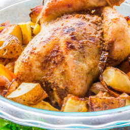 Easy Spicy Whole Roast Chicken