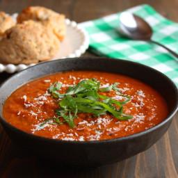 Easy Stovetop Tomato Soup