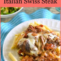 Easy Summer Recipes | Crock Pot Italian Swiss Steak