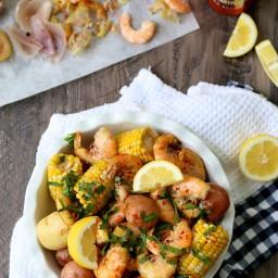 Easy Summer Shrimp Boil