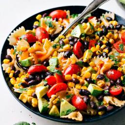 Easy Tex Mex Pasta Salad
