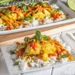 Easy Thai: Coconut Curry White Fish
