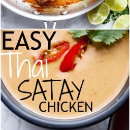 Easy Thai Satay Chicken