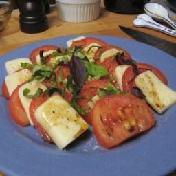 Easy Tomato-Basil-Mozzarella Salad