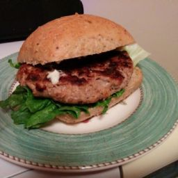 Easy turkey burger