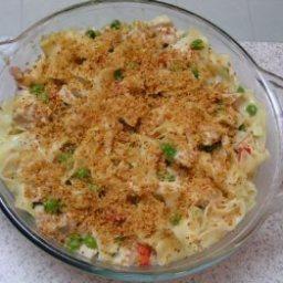 Easy Turkey Noodle Casserole