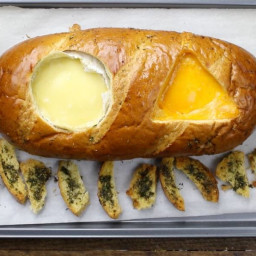 Easy Two Cheese Bread Bowl (With Video)