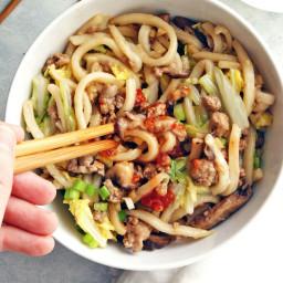 Easy Udon Noodle Stir Fry