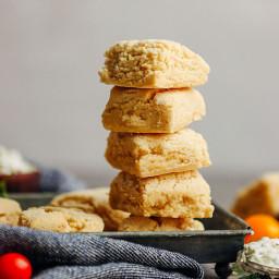 Easy Vegan Gluten-Free Biscuits