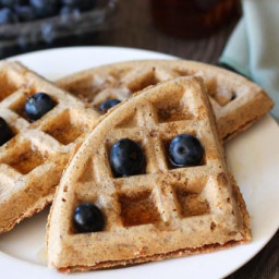 Easy Vegan Gluten Free Waffles
