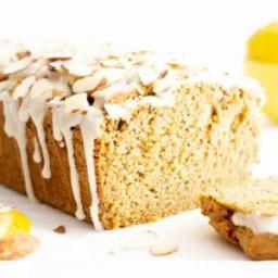 Easy Vegan Lemon Almond Poppy Seed Bread Recipe (Gluten-Free, Healthy)