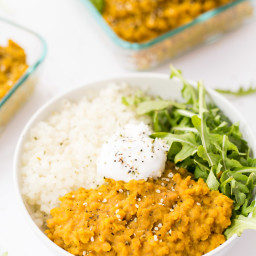 Easy Vegan Red Lentil Dal
