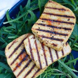 Easy Vegan Tofu Halloumi