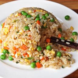 Easy Vegetable Fried Rice Recipe