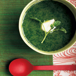 Easy Watercress and Leek Soup