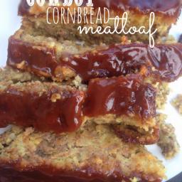 Easy Weeknight Dinners Recipe - Cowboy Cornbread Meatloaf