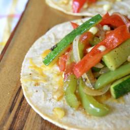 Easy Weeknight Veggie Tacos