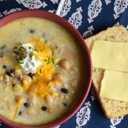 Easy White Chicken Chili Soup Supreme
