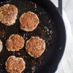 Easy Whole30 Breakfast Sausage (Paleo, Gluten Free, Sugar Free)