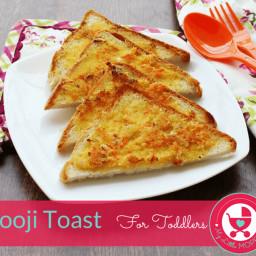 Easy Breakfast Ideas - Suji Toast for kids