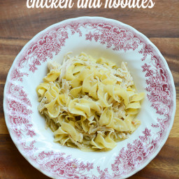 Easy Crock Pot Chicken and Noodles