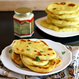 Easy Indian Naan Bread