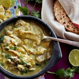 Easy Pressure Cooker Green Chile With Chicken