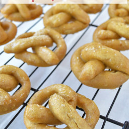 Easy Soft Homemade Pretzels (gluten-free)