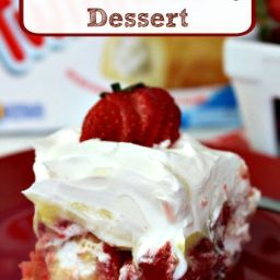 Easy Twinkie Strawberry Dessert