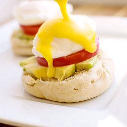 Easy Vegetarian Eggs Benedict